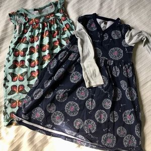 Patterns! Bundle of two dresses - Size 5